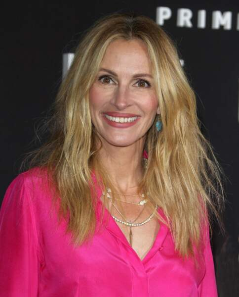 Le blond californien très naturel de Julia Roberts.