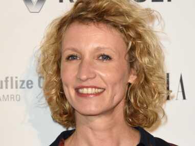 Alexandra Lamy sur le tapis rouge des Trophées du film français