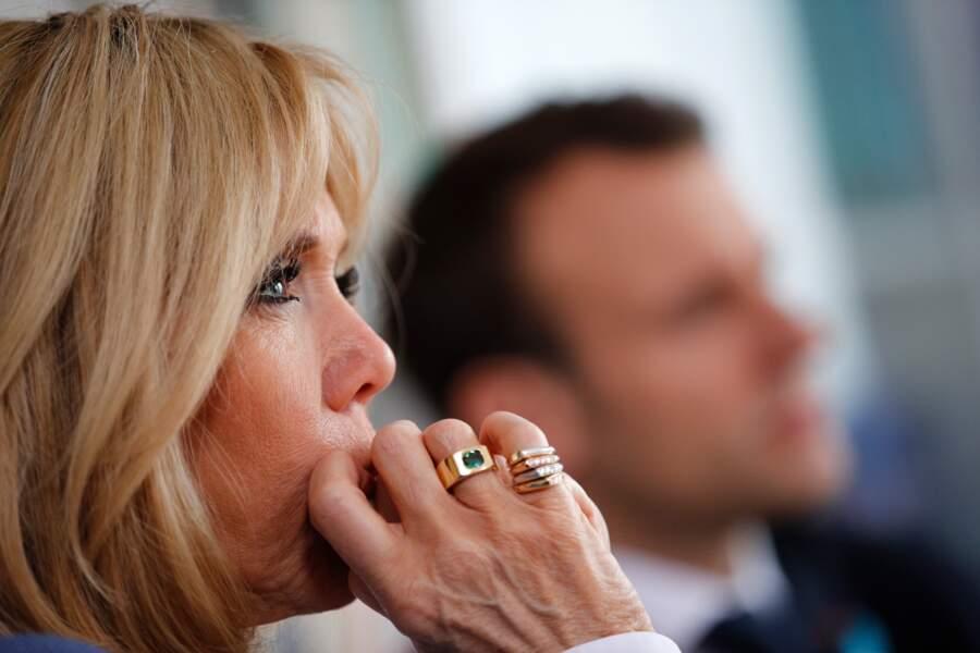 """Brigitte Macron en a fait son mantra : """"Moi avec les rides, lui avec sa fraîcheur"""""""