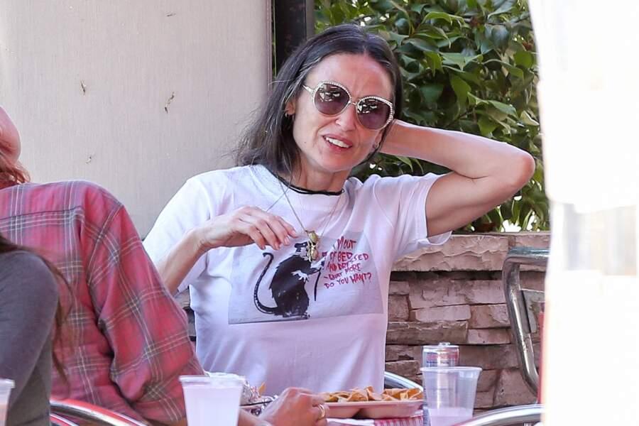 Demi Moore à Los Angeles en Juin 2016