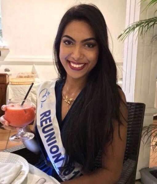 Audrey Chane Pao Kan, Miss Réunion