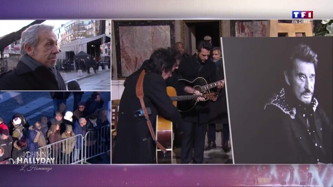Cérémonie hommage à Johnny Hallyday : les musiciens répètent à la Madeleine
