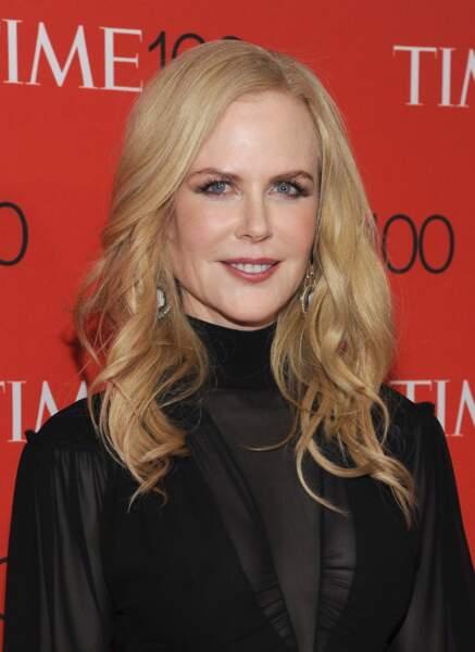 Impossible d'imaginer Nicole Kidman sans ses belles longueurs blond vénitien.