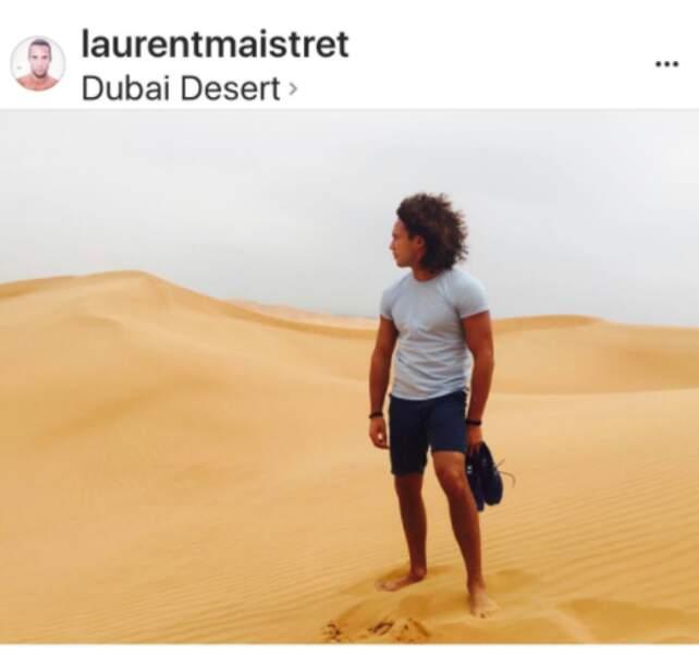 Laurent Maistret à Dubaaï