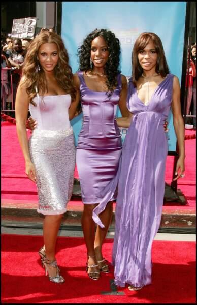 Avant elles, un autre célébre girlsband, les Destiny's Child avait eu droit à sa déclinaison en poupées Barbie