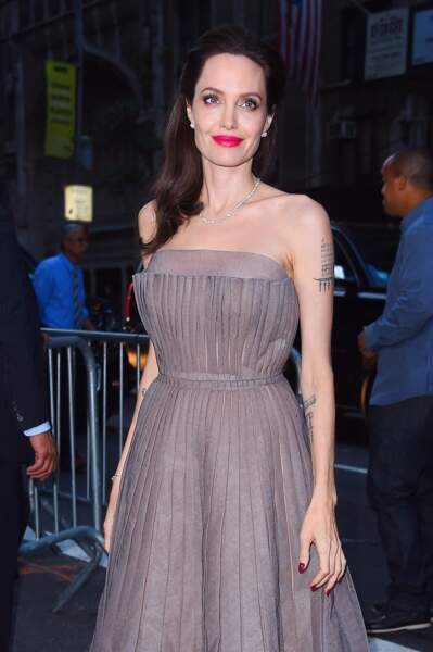 Angelina Jolie radieuse à new York