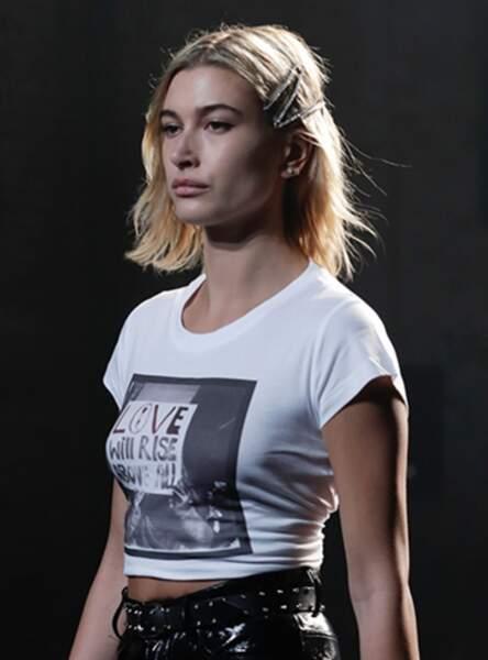 La barrette couture comme sur le défilé Zadig & Voltaire 2018