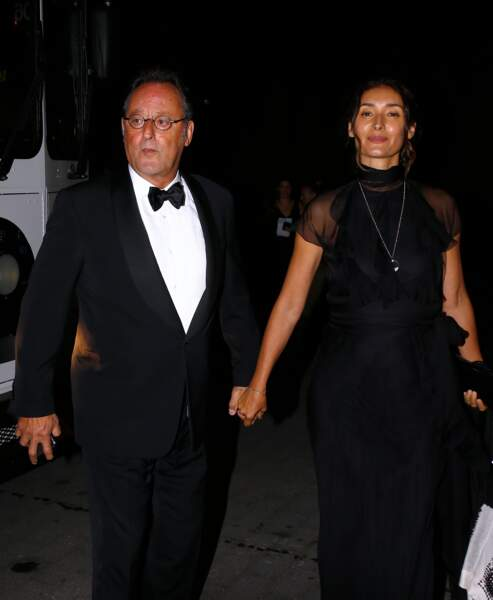 Jean Reno et sa femme Zofia Borucka toujours complices pour le 50ème anniversaire de la marque Ralph Lauren