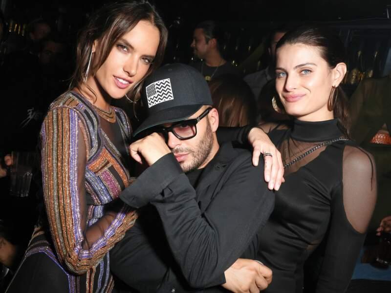Richie Akiva, Alessandra Ambrosio  et Isabeli Fontana