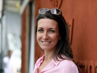 Anne-Claire Coudray et son chéri à Roland Garros