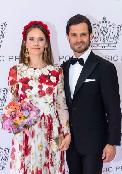 La princesse Sofia de Suède ravissante avec son mari Carl Philip