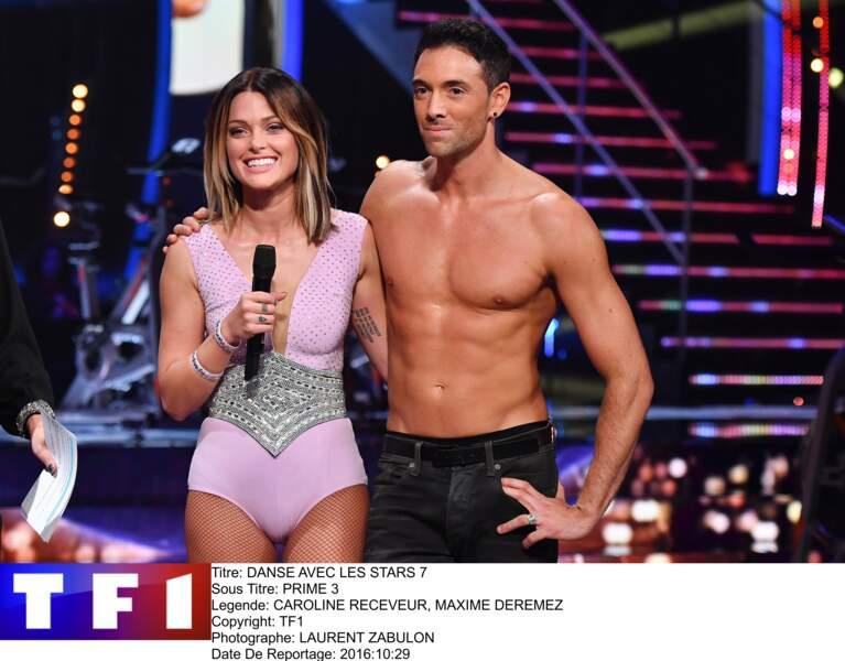 Caroline Receveur et Maxime Dereymez