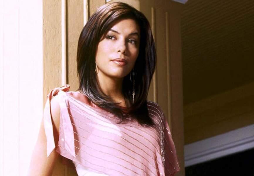 Eva Longoria, lolita sexy au début de la série