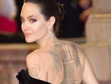 PHOTOS - Les tatouages tendances dans le cou des femmes