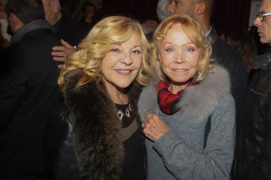 Nicoletta et Isabelle Aubret.