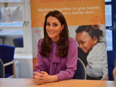 Kate Middleton, son nouveau look fait jaser : a-t-elle mis son chemisier à l'envers ?