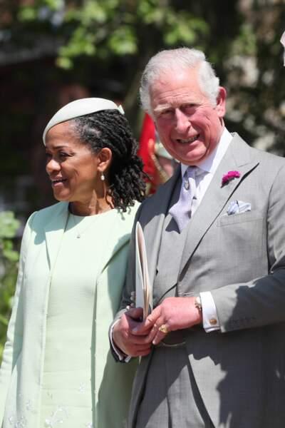 Doria Ragland et le prince Charles, prince de Galles