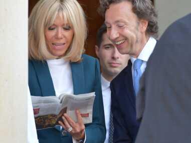 PHOTOS – Brigitte, Emmanuel Macron et Stéphane Bern, complices à l'Elysée