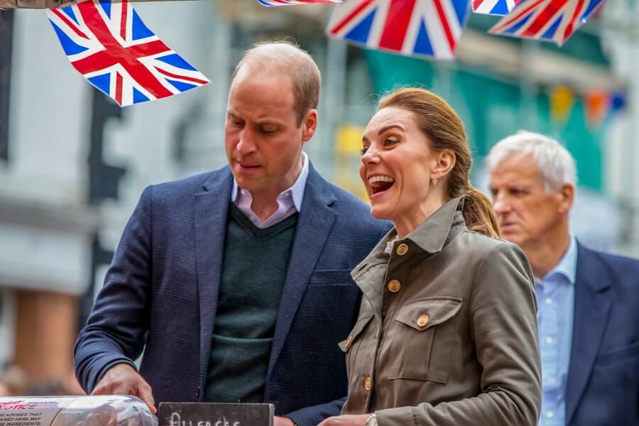 Loin des rumeurs, Kate Middleton et le prince William semblent plus heureux que jamais.