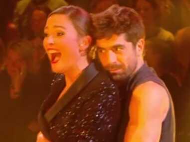 Danse avec les stars : le tango collé-serré de Sandrine Quetier et Agustin Galiana