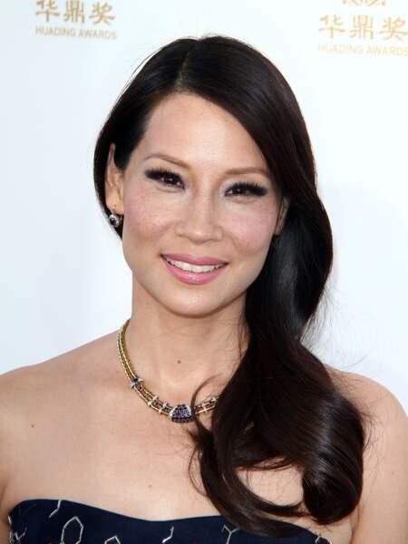 l'actrice Lucy Liu en 2014