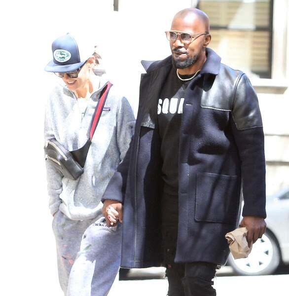 Il portait un sweatshirt Dsquared2