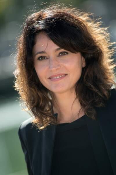 """Anne Charrier, l'une des héroïnes de """"Prêtes à tout"""" (France 2) qui a reçu le prix de la meilleure actrice"""