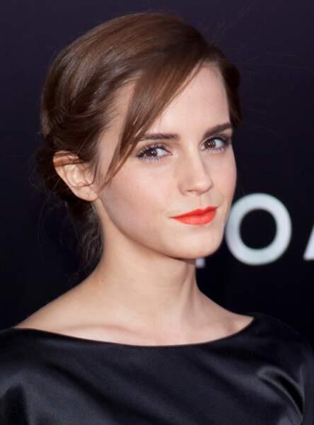 La mèche discrète d'Emma Watson