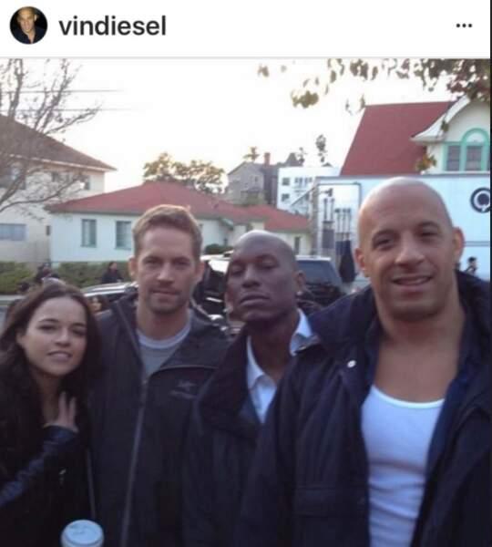 Vin Diesel et Paul Walker