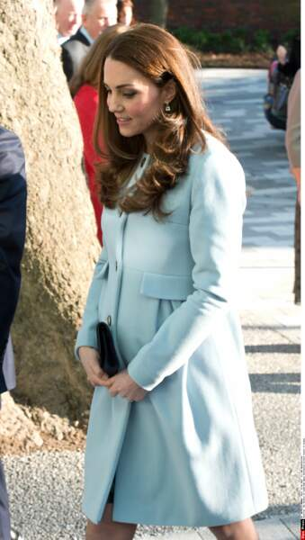 La Duchesse de Cambridge, en Séraphine.