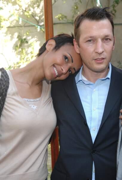 Sonia Rolland et Christophe Rocancourt à Avignon en octobre 2007