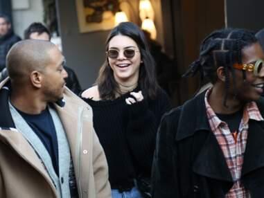 Kendall Jenner et A$Ap Rocky aux puces de Saint-Ouen