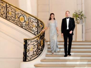 Kate Middleton en Jenny Packham pour le grand gala à Paris