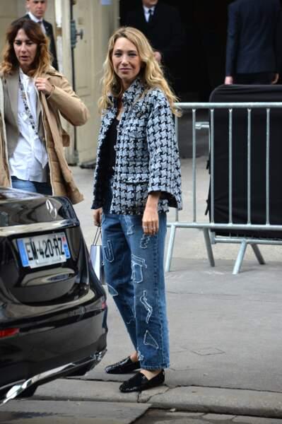 Laura Smet à la sortie du Grand Palais