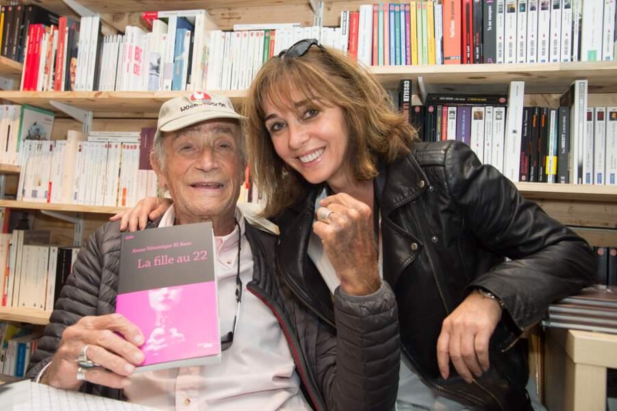 """Venantino Venantini avec Anna Véronique EL BAZE, auteur du roman """"LA Fille au 22"""""""