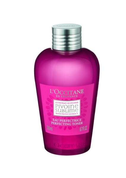 Eau perfectrice Pivoine Sublime, L'Occitane, 17€