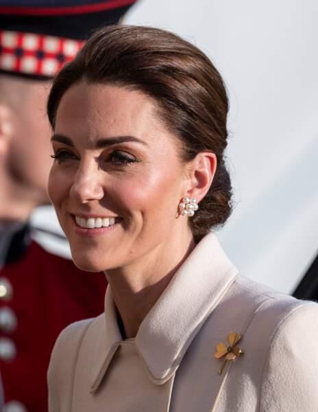 Kate Middleton sublime désormais son teint grâce à un enlumineur doré