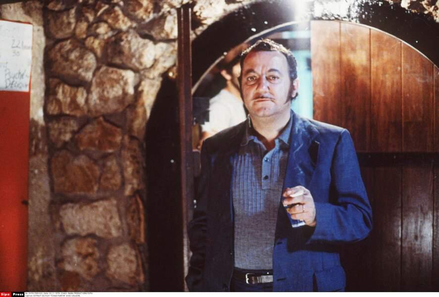 Sur le tournage de Tchao Pantin, en 1984