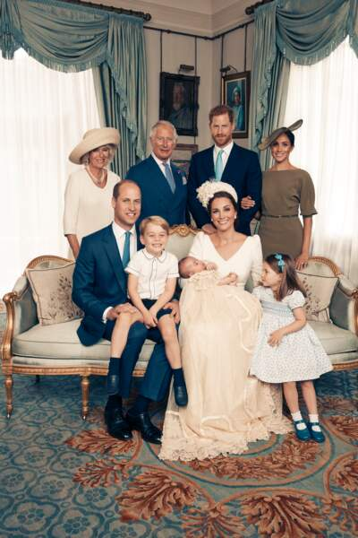 Le prince George sosie de son père William le 9 juillet à Londres