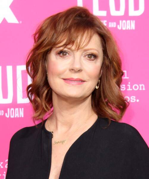 "Susan Sarandon à la première de la série ""Feud: Bette and Joan"" le 21 avril 2017 à Los Angeles"