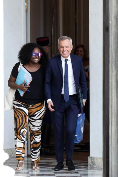 Sibeth Ndiaye était fière de porter cet accessoire étonnant