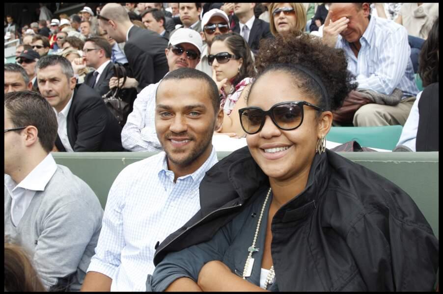 Jesse Williams et sa femme Aryn, en 2010