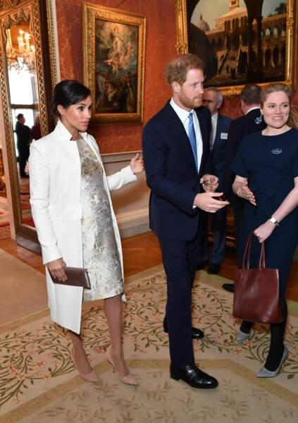 Meghan Markle, aux bras de son cher et tendre, le prince Harry, ce 5 mars