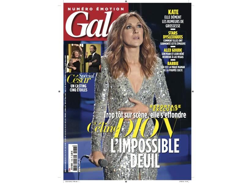 Céline Dion l'impossible deuil