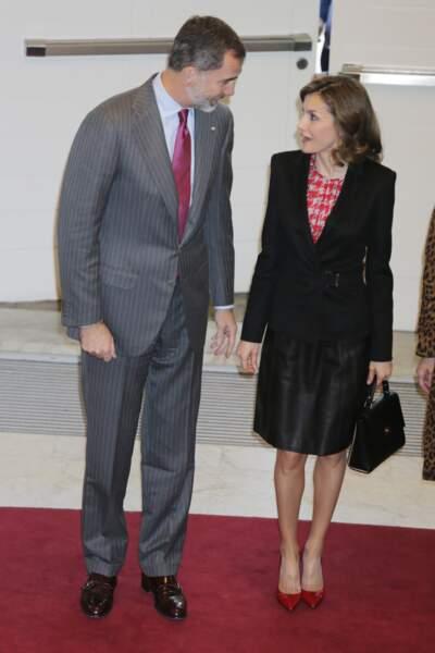 Letizia et Felipe très complices à San Sebastian