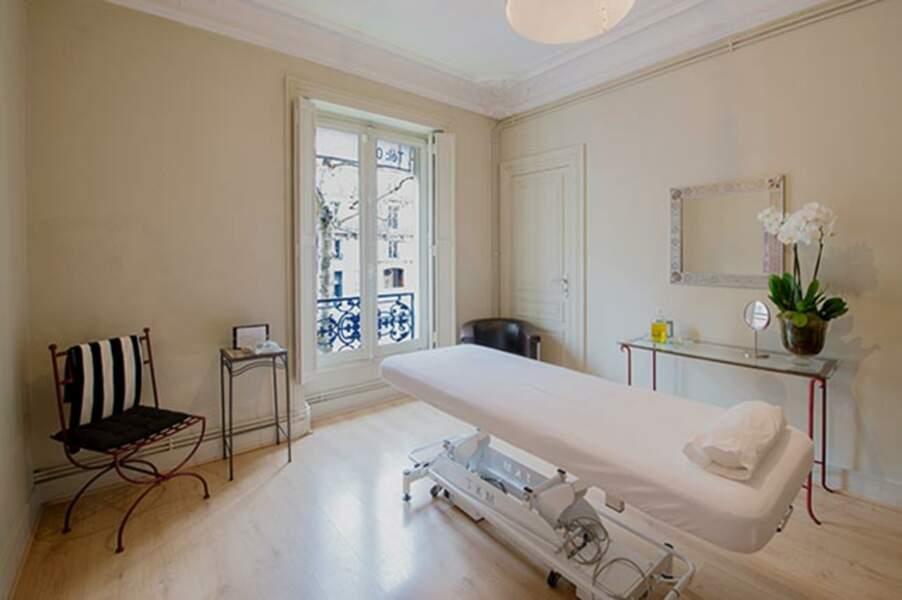 Cabine de massage boulevard Maslesherbes