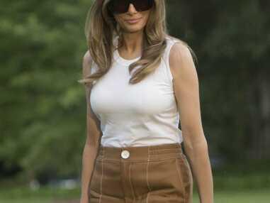 Les tenues casual et chers de Melania Trump