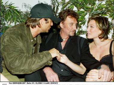 Photos - Johnny Hallyday : ses ainés Laura Smet et David Hallyday