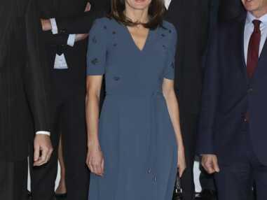 PHOTOS - Letizia d'Espagne, chicissime dans une robe Hugo Boss