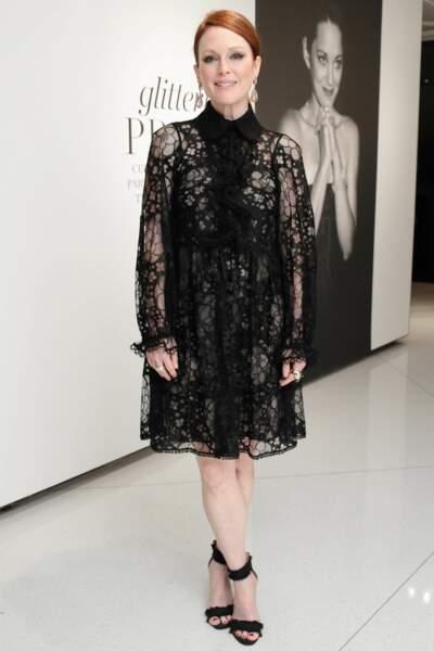 Julianne Moore pour Chopard et Vogue, New York